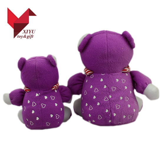 OEM Custom Plush Toys Christmas Mini Baby Bear and Mother pictures & photos
