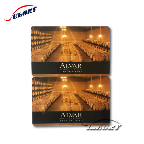 Smart Card with Black Code and Magnetic Stripe pictures & photos