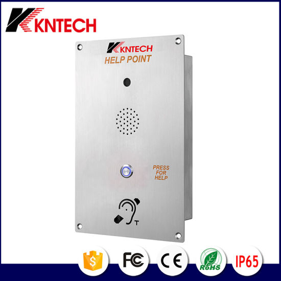 Weatherproof Enclosure Wall Mounting Marine Offshore Audio Digital Door Phone pictures & photos
