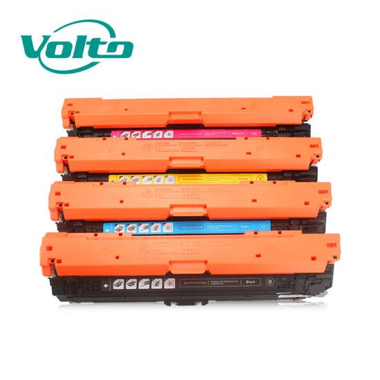 Wholesale High Quality HP Ce271A 740 71A Compatible Toner Cartridge for HP Color Laserjet Cp5525/5520