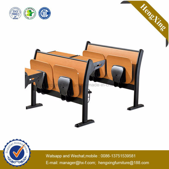 Folding School Desk and Chair Competitive Price School Furniture (HX-5D208) pictures & photos