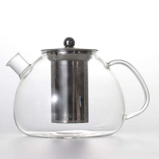 Pyrex Glass Teapot with Infuser Glass Tea Set High Borosilicate Glass Teapot