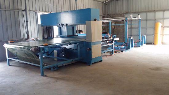 Hydraulic Moving Head Foam Rubber Rolls Cutting Machine