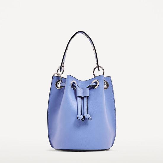 85e27d25 China Guangzhou Factory Designer Ladies Bag Fashion PU Leather Bucket Bag -  China PU Drawstring Bag, PU Bag