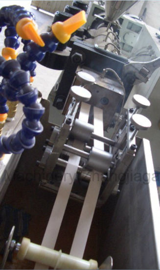 Furniture Plastic PVC Edge Banding Tape Extrusion Production Line pictures & photos