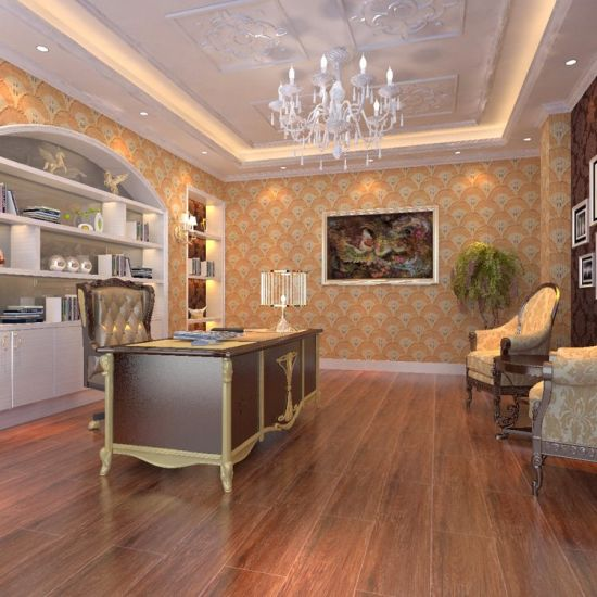China Wood Design Ceramic Floor Tilecheap 150600mm Wooden