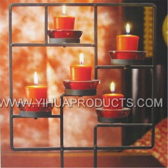 Used for Decoration Red Color Votive Candle