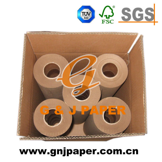 80GSM Virgin Brown Craft (Kraft) Paper in Roll in China pictures & photos