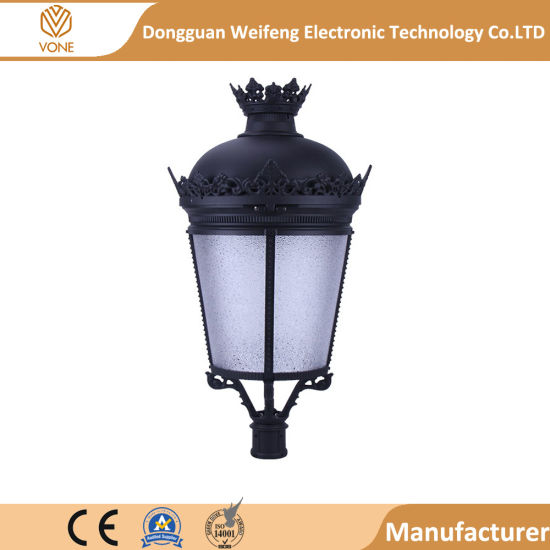 Newest Product Wholesale Aluminum Alloy LED Outdoor Post Top Garden Lights 35W 40W 55W 70W