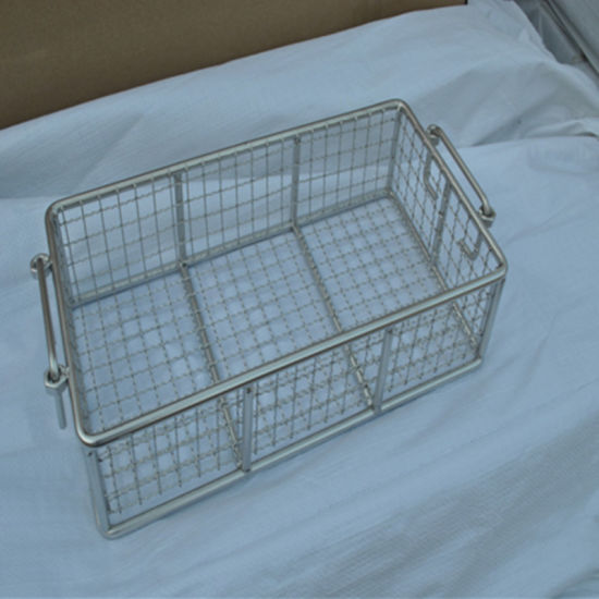 Stainless Steel Wire Mesh Fry Oil Basket pictures & photos