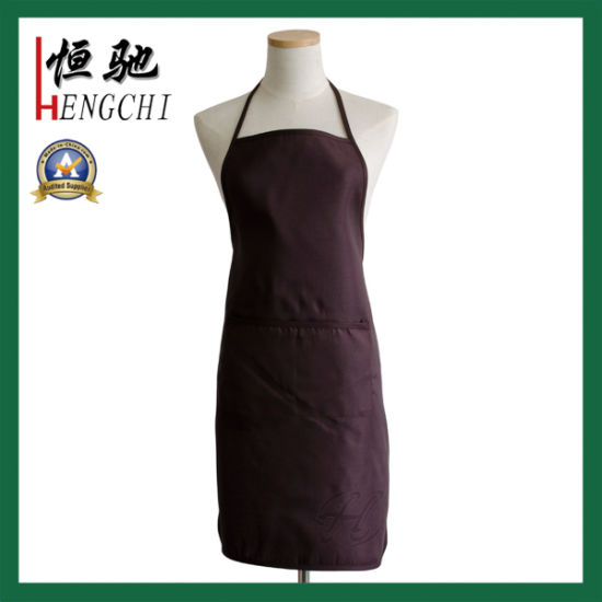 100% Polyester OEM Custom Printing Promotional Kitchen Apron pictures & photos