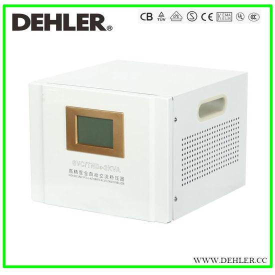 SVC-5kVA Single Phase 5000W 220V Servo Type Automatic Voltage Regulator