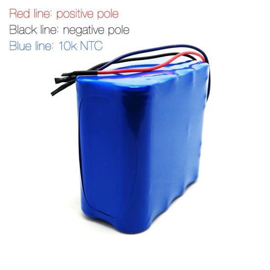 Rechargeable 4s2p 14.8V 18650 4400mAh/4800mAh/5200mAh Lithium Ion Battery Pack with BMS and Connector