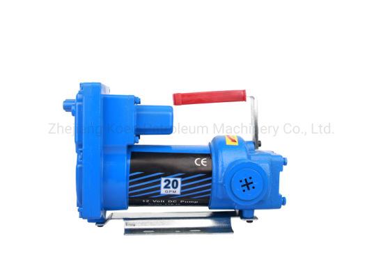 Portable and Small DC 12V Ex-Proof Petrol Oil Transfer Pump