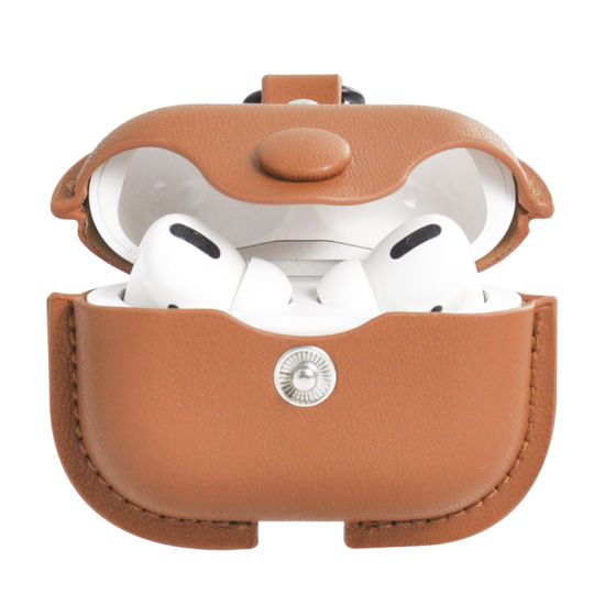 China 2020 Newest Fashionable For Airpods Pro Leather Case Cover