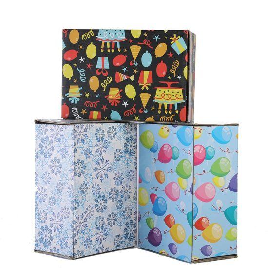China Wholesale Shipping Box Corrugated Cardboard Shipping Box Custom Logo Printed Carton Shipping Box with Logo