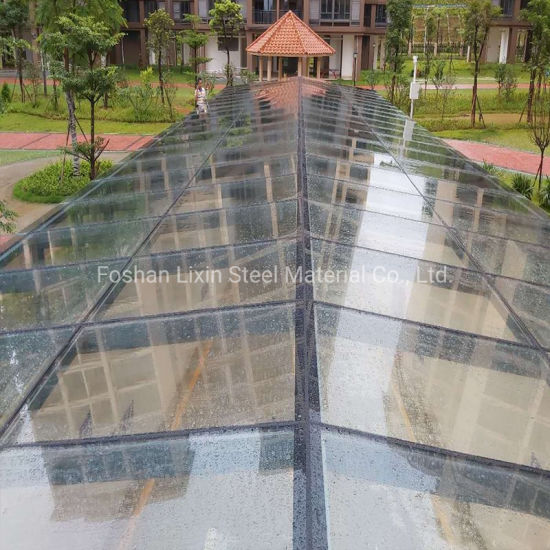 Prefab Steel Structure Shed Glass Entrance Steel Roof Modular Building