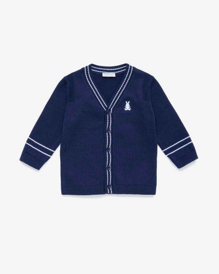 Baby Fashion School Uniform Cardigan Sweater Baby Clothes