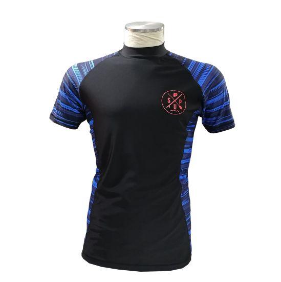 High Quality Laser Cut Fabric Men Wholesale Custom T Shirt Printing