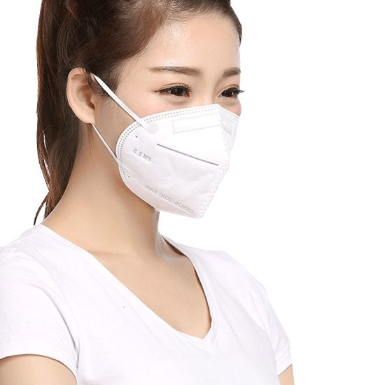 Protective Folding Disposable Earloop Civil Use Respirator Face Mask in Stock