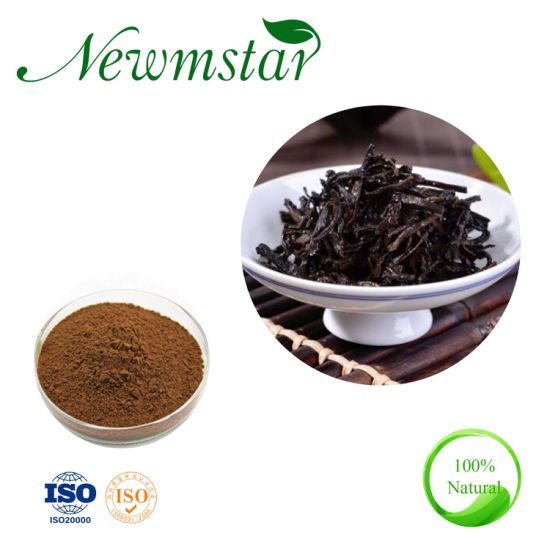100% Water Soluble Pure Instant Pu'er Tea Extract Powder