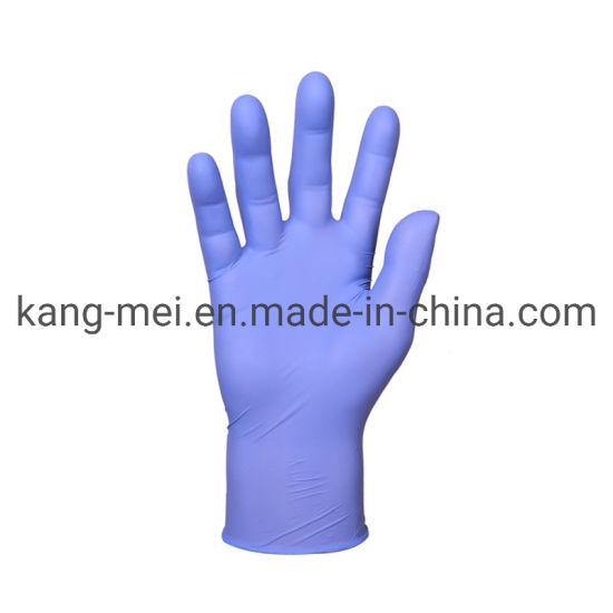 Manufacturer Nitrile Disposable Gloves Powder Free Nitrile Examination Gloves