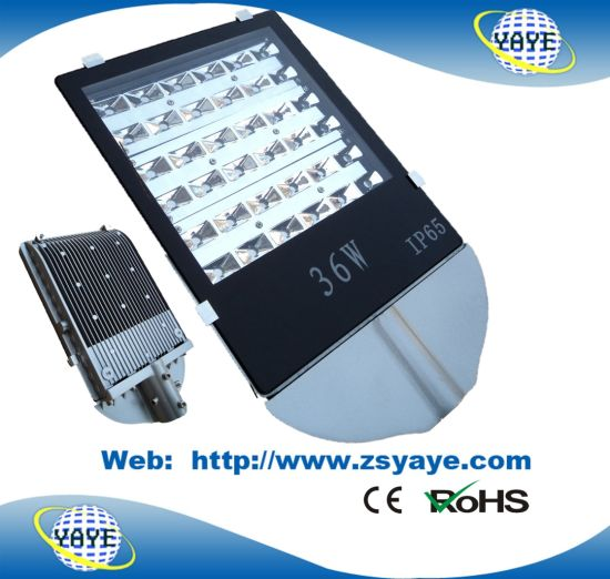 Yaye 18 Good Price 2/3/5 Years Warranty 36W LED Street Lights with RoHS & Ce (Best Supplier: Zhongshan YAYE lighting Co., Ltd in China)