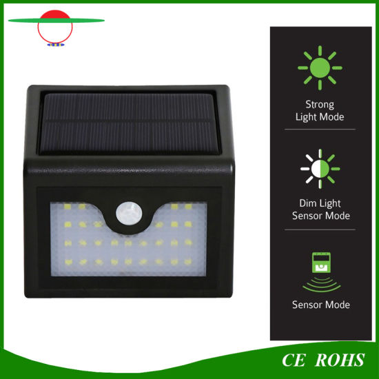 China new arrival 28led wireless solar wall lamp outdoor garden new arrival 28led wireless solar wall lamp outdoor garden light with pir sensor and dim mode aloadofball