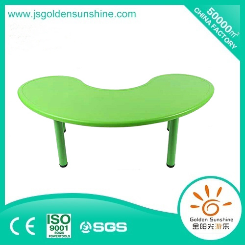 Kids Furniture Plastic Table in Moon Shape pictures & photos