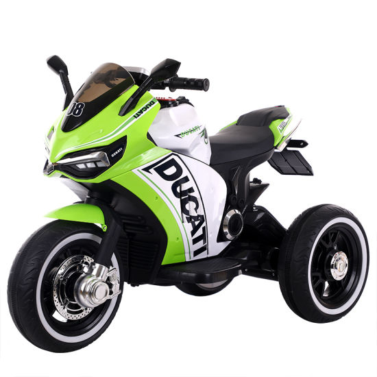 Kids Electric Motorcycle with 7 Colors 12V pictures & photos