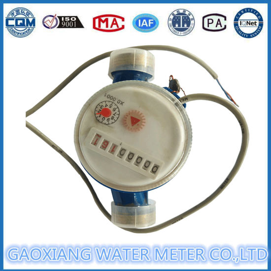 Single Jet Dry Dail Pulse Water Meter Dn20mm pictures & photos