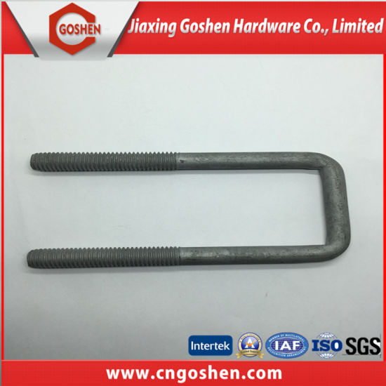 High Quality HDG U-Bolt pictures & photos