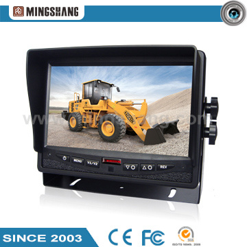 "7"" Rearview System with Removable Sunshade and Waterproof Camera pictures & photos"
