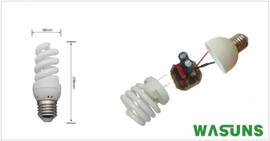 T2 15W Fs CFL Energy Saving Lamp Russia pictures & photos