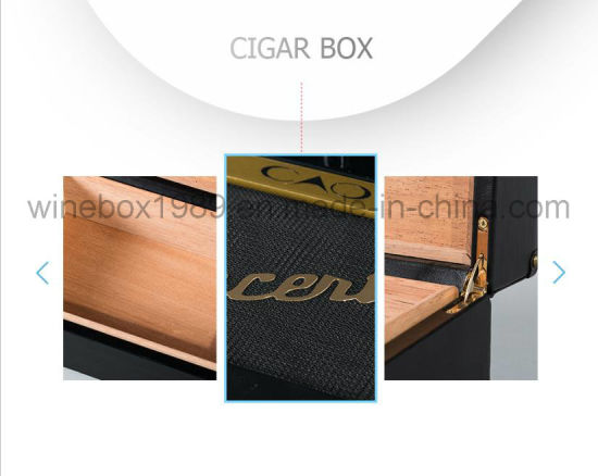 Customized High-End Luxury MDF Gift Packaging Cigar Box pictures & photos