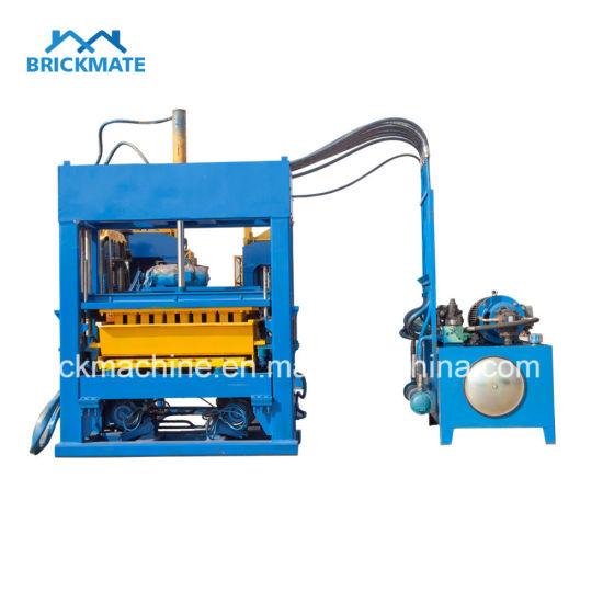 Qt5-15 Automatic Curbstone Block Machine Price