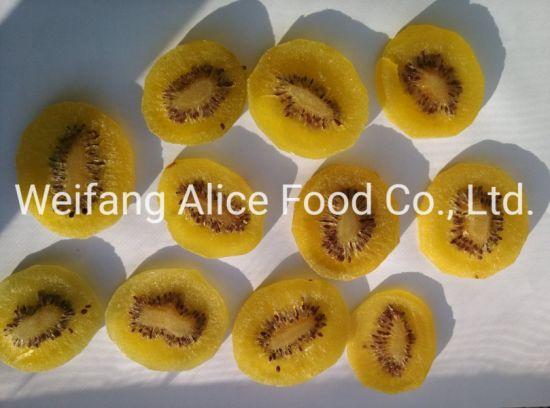 Best Price Dried Yellow Kiwi Sweet Preserved Yellow Kiwi