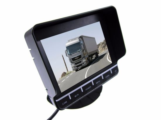 "5.6""Atuo LCD Srceen Touch Button Monitor for Car pictures & photos"