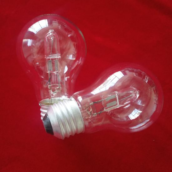 A55 Clear Shell Tungsten Halogen Lamp