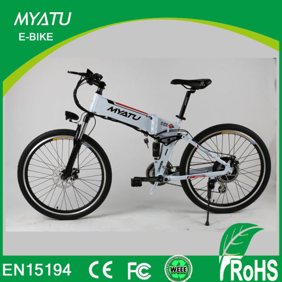 9154b6fc0db Big Power Hummer Battery Powered Folding Mountain E Bike pictures & photos