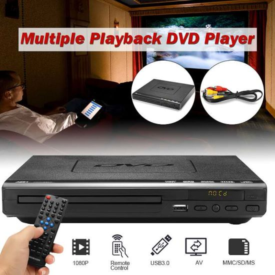 2019 Cheap Multi-Functions Playback USB Evd/DVD Player with Card Reader pictures & photos