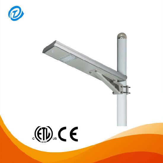 60W 80W 100W 120W Integrated Sensor All in One Solar LED Street Light IP65 for Garden
