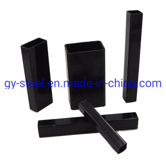 Ms Black Welded Rectangular / Square Steel Pipe/Tube