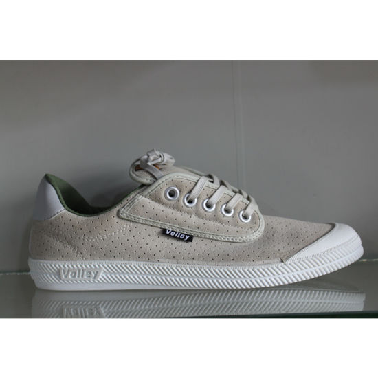 Injection Lady Casual Shoes Women Footwear Canvas Shoes pictures & photos