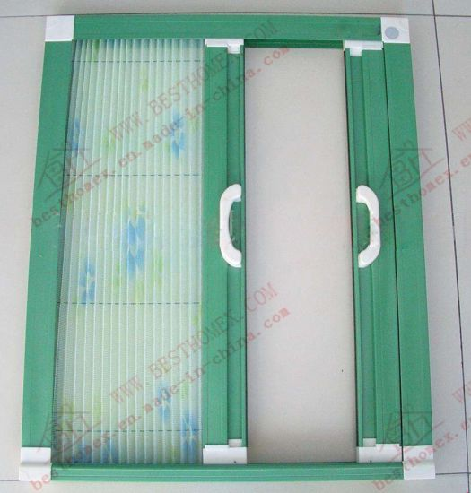 Aluminium Folding Caterpillar Flyscreen (BHN-F06) pictures & photos