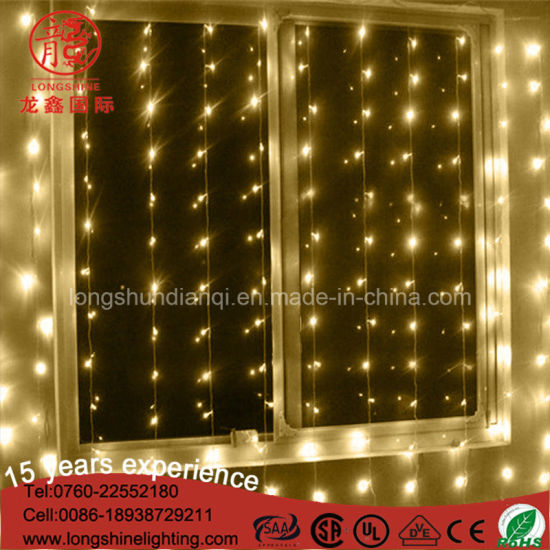 LED Curtain Wall Light String for Decoration pictures & photos