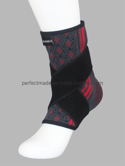 Elastic Adjustable Pain Relief Foot Guard Ankle Support with Belt