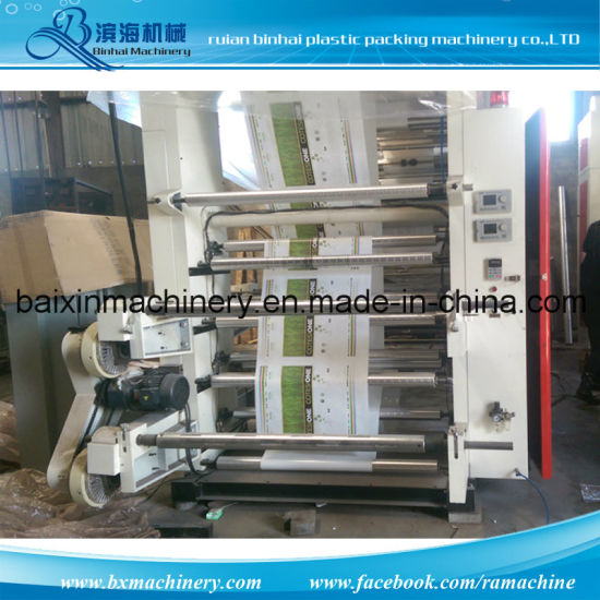 Belt Control Chamber Doctor Blade Flexograhy Printing Machine pictures & photos