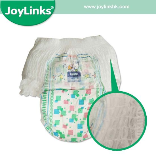 Super Absorbent OEM Brand Cotton Baby Care Pull up Diaper Training Pants