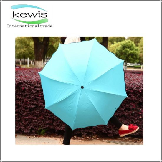 3 Fold Umbrella Promotion Gift Upside Down Umbrella pictures & photos